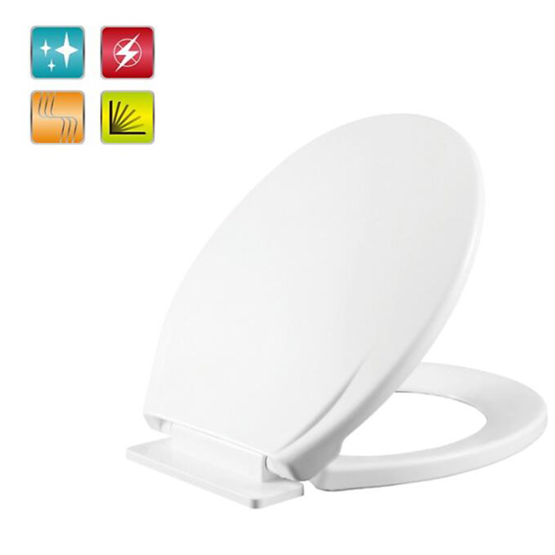 Toilet Lid Cover Soft Closing2016 High Quality White