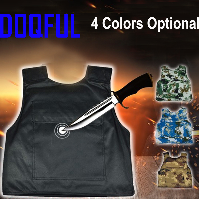 Hard Stabproof Vest Outdoor Tactical Vests Stab Proof Clothing Anti Cut Personal Self Defence Safety Tungsten Steel Iiner PlateHard Stabproof Vest Outdoor Tactical Vests Stab Proof Clothing Anti Cut Personal Self Defence Safety Tungsten Steel Iiner Plate