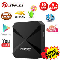 Android TV BOX T95 MAX Built In 2 4G 5G WiFi Amlogic S905 KODI 16 0