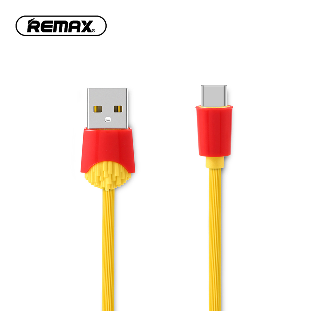 Remax Aurora Cable Iphone Micro Usb 2in1 Kabel Data Charging Orange Puding Type C For Samsung Galaxy S9 Plus Note 9 Fast