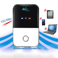 4G Portable Wifi Router Mobile Wifi Hotspot Wireless Broadband 4G 3G Mifi Unlocked Modem With Sim Card Slot