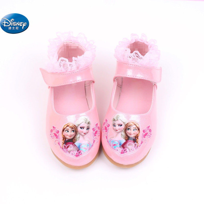 Frozen 3D Elsa And Anna Casual Shoes  Girls Snow Princess New Style  Princess Soft Cartoon  Shoes Europe Size 26-30