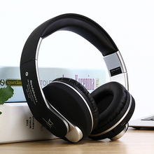 Фотография JKR-218B Wireless Bluetooth Headset Headphone Earphone with Mic Support TF Music FM for Mobile Phone PC Laptop Fone de ouvido