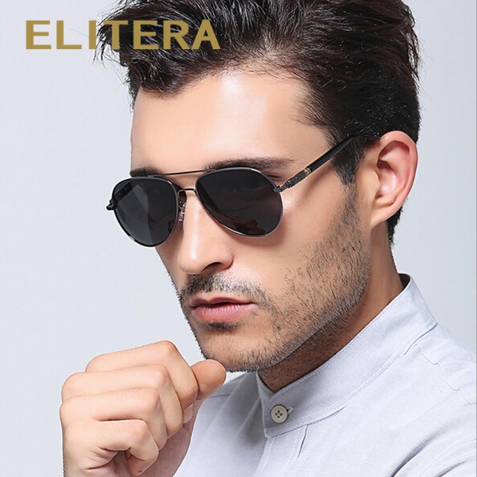 ELITERA القادمون الجدد الرجال الأزياء الاستقطاب النظارات الشمسية العلامة التجارية تصميم نظارات الشمس أربعة لون 209 شحن مجاني