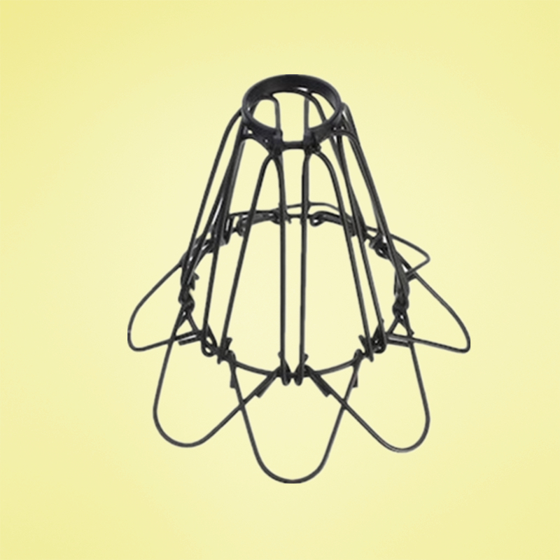 Old Fashioned Metal Lamp Shade: Free Shipping Metal Cage Lampshade Loft Style Vintage