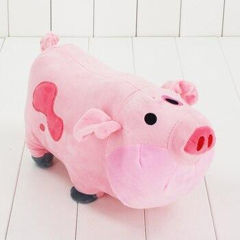 30 см Waddles милая плюшевая игрушка свинка игрушка Горячая Мультфильм гравитационные падения мягкие Q животное кукла игрушка Отличный подарок ...