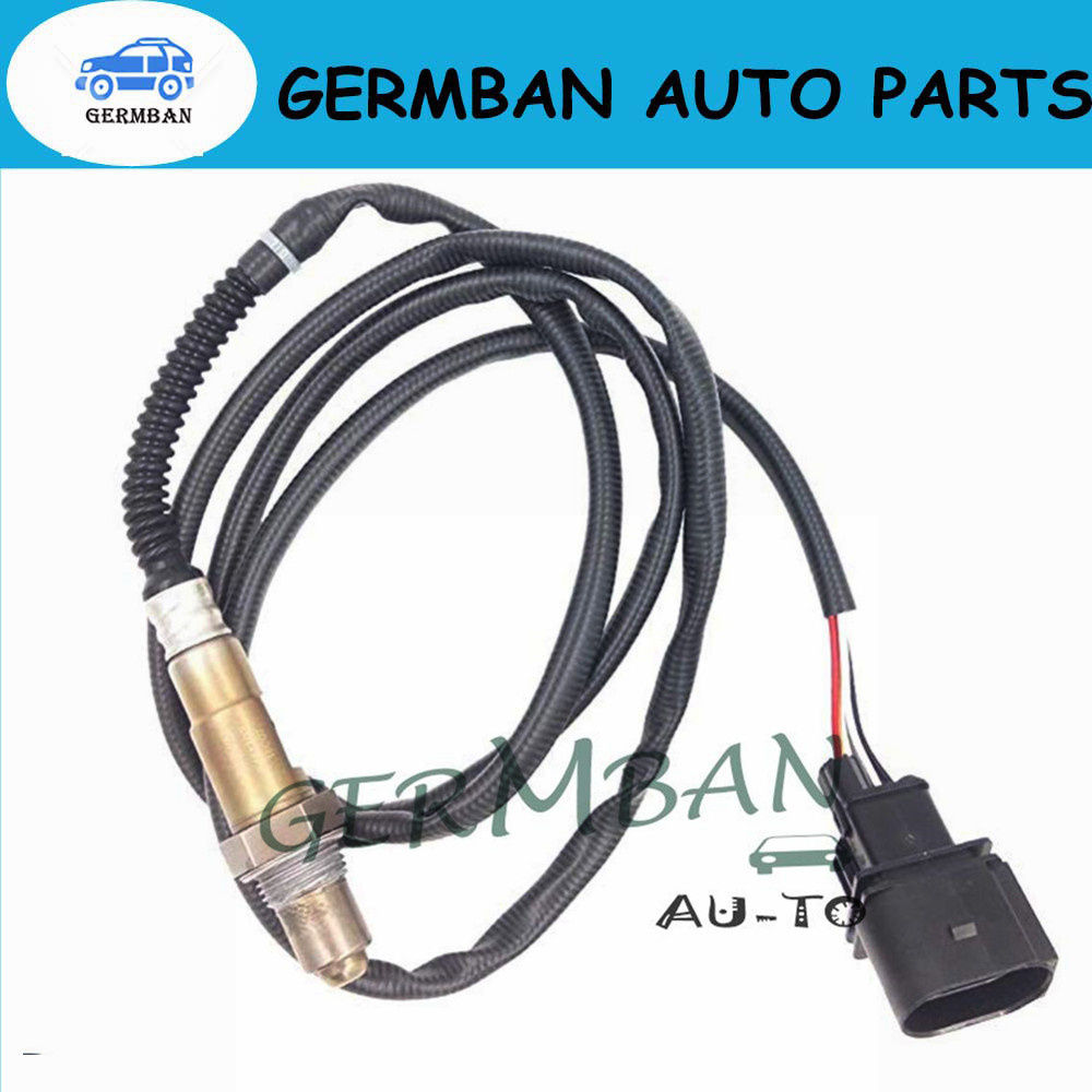 Sensor de oxigênio lambda fabricado novo para skoda 99-05 jetta 1.8l-l4 número da peça #0 258 007 351 0258007351 1k0998262d 234-5112