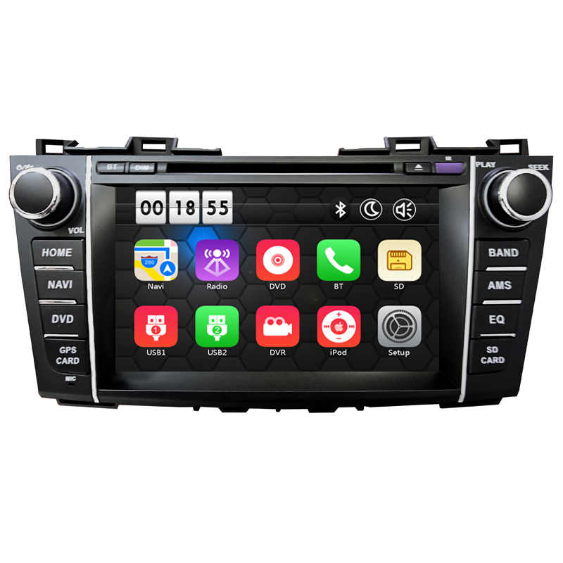 8 inch Wince HD Car DVD Player with font b GPS b font Navigation system for