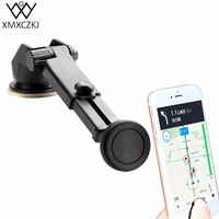 XMXCZKJ Universal 360 Degree Rotatable Magnetic Holder Windshield Dashboard Stand Car Mount Holder For IPhone Xiaomi