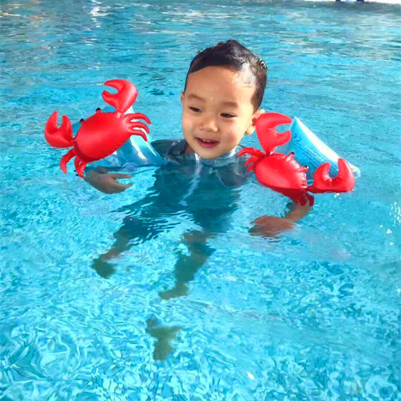 Swimming Pool Wings : Pair child swimming arm ring band wing kids baby