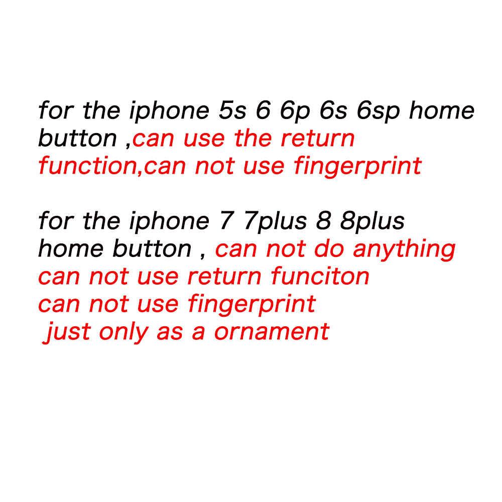 HOUSTMUST 1 шт. домашняя кнопка с гибким кабелем для iPhone 5 5C 5S 6 6 плюс 6s плюс 7 7 плюс Главная Кнопка Flex сборка