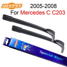 QEEPEI Windscreen Wiper For Mercedes C C203 W203 2005-2008 22''+22'' Auto Wipers Blade Accessories Auto Windshield,CPF101-3