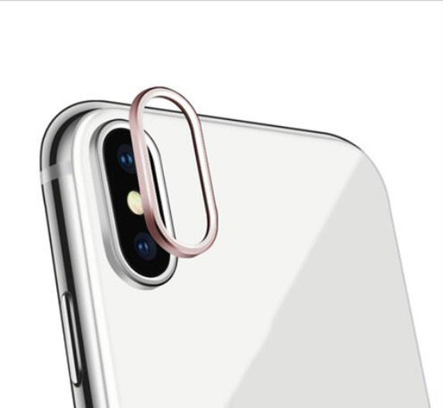 newest ffd67 461cf US $0.99 |Webcam Cover For iPhone X Camera Lens Protector Ring Plating  Aluminum for iPhone X Camera Case Cover Ring Protection Accessories-in  Mobile ...