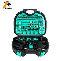 252pc ferramentas elétricas acessórios para ferramenta de gravura elétrica mini broca diy dremel conjunto de ferramentas rotativas Furadeiras elétricas     -