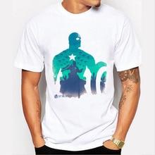 Nuevo Capitán América camiseta 3D impreso camisetas hombres vengadores  guerra Civil del hombre del hierro Hulk hombre Crossfit T.. 1758d45af93