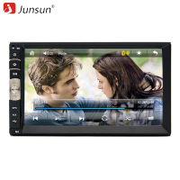 Junsun 7 Inch 2 Din Car DVD GPS Radio Player Bluetooth Double Din Car Universal Stereo