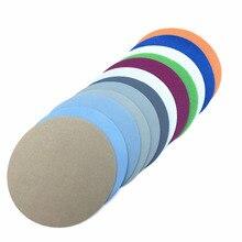 30ps125mm น้ำบดกระดาษทราย 5 นิ้วกรวด 1500 10000 แผ่นขัดกระดาษทรายกระดาษทรายกระดาษทรายรอบ Disk Sand แผ่น