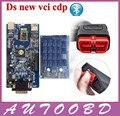 Nueva Fecha de Lanzamiento 2014. R2 TCS CDP Bluetooth Con Doble PCB Chip Para Vehículos Multimarca Coches Camiones herramienta de Diagnóstico Mejor Que MVD