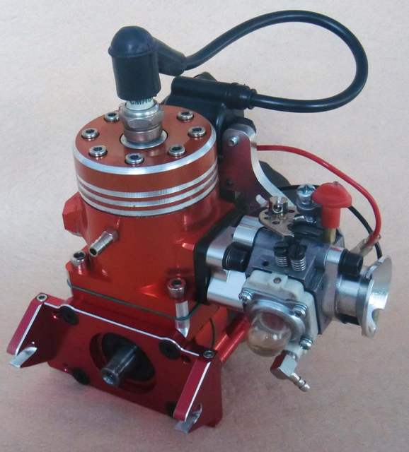 Remete controller Gas Boat and Ship Gas Engine Strong Super QJ model 26cc  27 5cc Motor (race version 7hp) gasoline engine