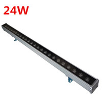 Wholesale Free shipping 10pcs 24W LED Wall Washer Light outdoor LED light Waterproof IP65 Led flood lights 1000*46*46mm