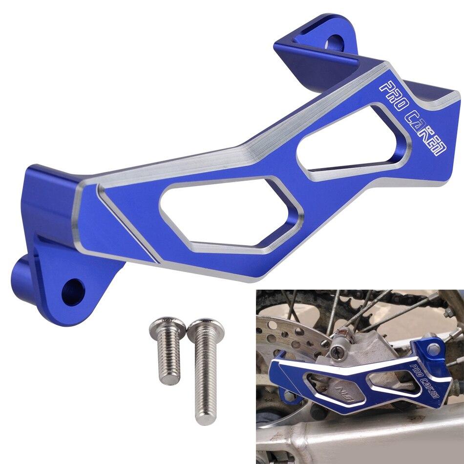 NICECNC Rear Brake Caliper Guard For Yamaha YZ125 YZ250 YZ250F YZ450F WR250F WR250R 2018 WR250X WR450F YZ 125 250 WR 250F 450F