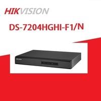 HIKVISION English Version DS 7204HGHI F1/N 1080P 4CH CCTV XVR for Analog/HDTVI/AHD/IP Camera 1SATA