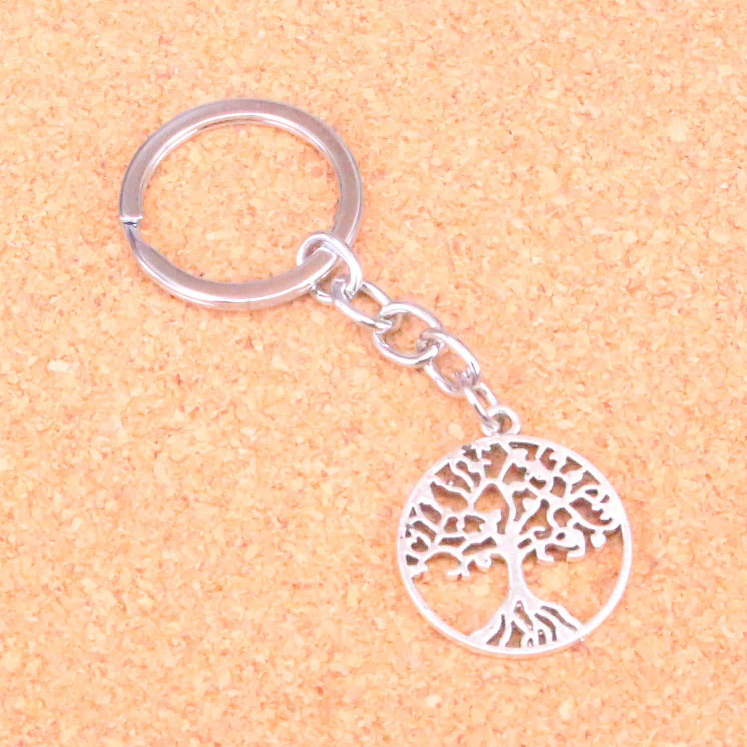 e5dbf85e39 Tree of life Keychain Key Ring Metal Key Holder For Gift Chaveiro Key chain  Jewelry for