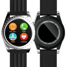 Neue smart watch gs3 smartwatch pulsmesser relogio uhr fitness tracker intelligente elektronik smart wacht für ios android