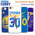 Los warriors de golden state stephen curry teléfono case cubierta de plástico duro shell para apple iphone 7 plus 7 6 splus 6 s 6 más 6 5 5S se 4 4S