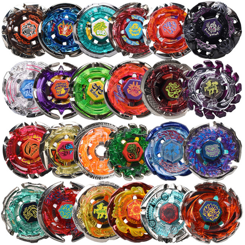 24 Styles 1pcs Beyblade Metal Fusion 4D System Battle Top Fury Masters Without Launcher Spinning Top Christmas Gift For Kids F4 топор fusion battle ax sog