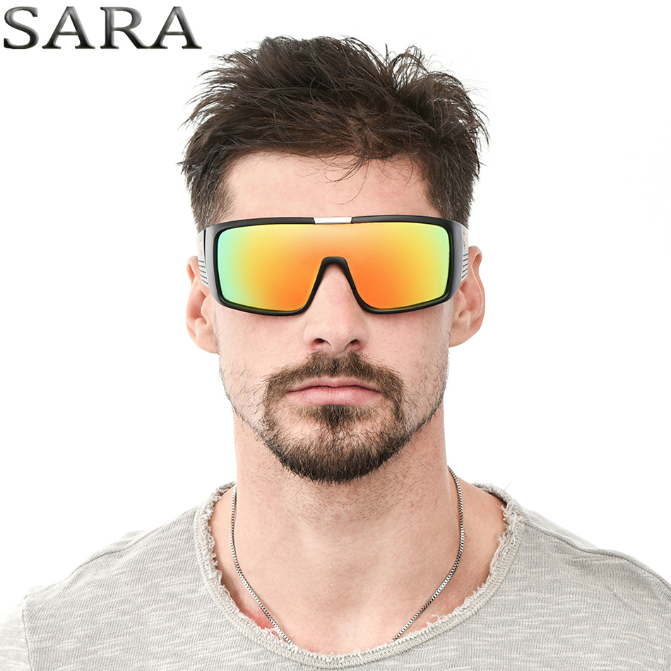 Lunettes de soleil lunettes de sport adultes de marque SARA Hommes HD  verres Polaroid Lunettes de soleil femmes Designer Drive lunettes de  sécurité New ... c09834234376