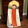 Bolsos saco de armazenamento fundamento do bebê Crib Set cama de bebê pendurado saco de algodão fralda organizador frete grátis