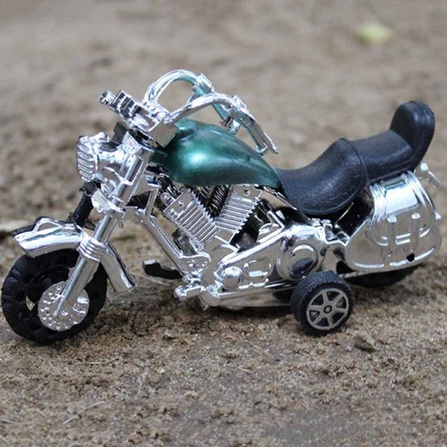 New Baby Toys Cute Motorcycle Plastic Cars Toy For Child Wheels Mini Car Model Funny Kids Random Color Boys