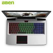 BBen G16 15.6 ''ordinateur portable Intel i7 7700HQ GTX1060 8G/16G RAM 128G/256G SSD 1 T HDD Aviation métal RGB clavier rétro-éclairé IPS Pro Win10(China)