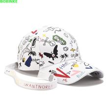 Pokemon Go Real Cotton Adult One Size Casual Dad Hat Gorras New For Graffiti Baseball Cap For Women In All Seasons Of 2019