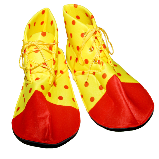 US $10 0 |Make up party party props clown shoes cosplay character play  clown boots dress up accessories Halloween dress up props-in Party DIY