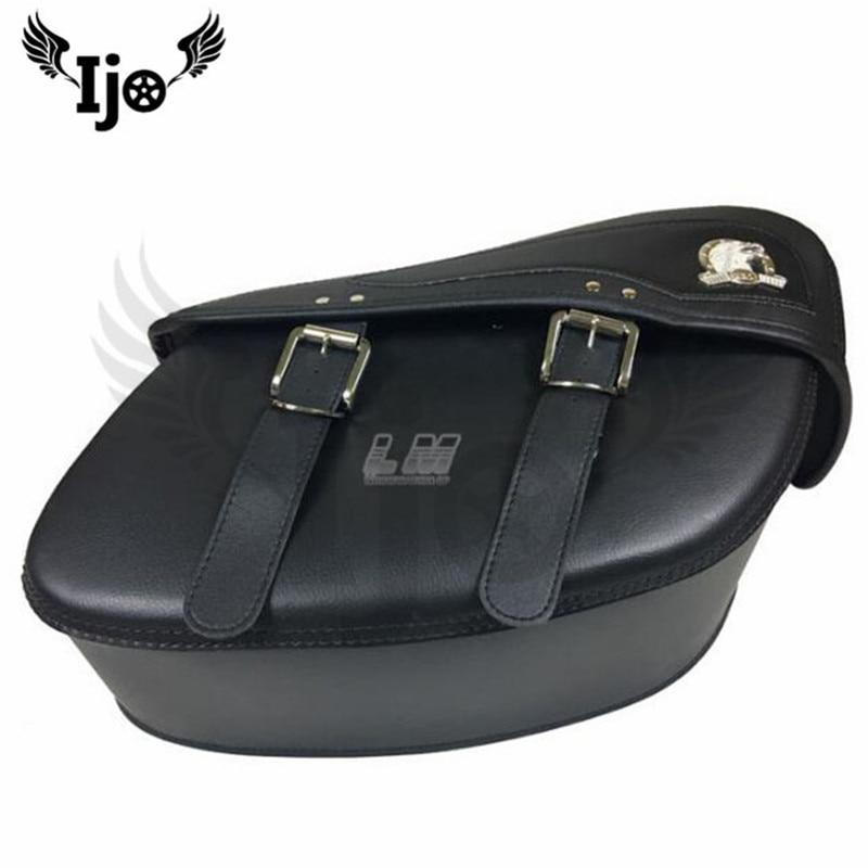 цена Motorcycle side bag for kawasaki honda suzuki yamaha Side box side box side bag with rain proof pads general