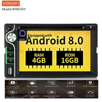 ZEEPIN WH6503 2Din Android Central Multimidia With 8 Core 4GB+16GB Car Head Unit 6.2 Inch Support Bluetooth WiFi For Ford Focus2