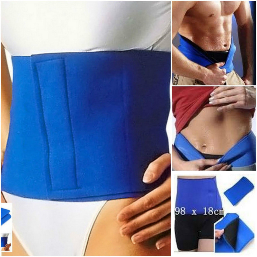 Slimming Belt Fat Belly Burner Waist Cellulite Weight Loss Stomach Sweat Braces Supports China