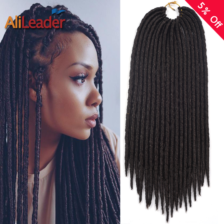 Top 12/18 Pouces DreadLocks Crochet Tresses Cheveux Extension 75g/90g  CS09