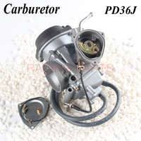 PD36J 36mm Vacuum Carburetor case for 400cc 1995 2010 universal other 300cc to 500cc racing motor UTV ATV