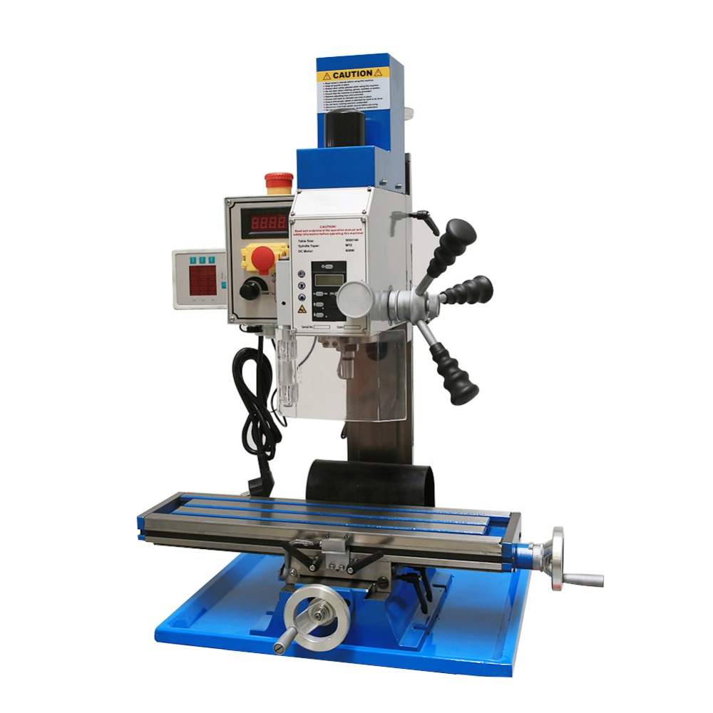 Accurately Depth Mini Drilling Milling Machines Brushless Motor Brushless Adjustable Taper Low Noise spindle metal processing
