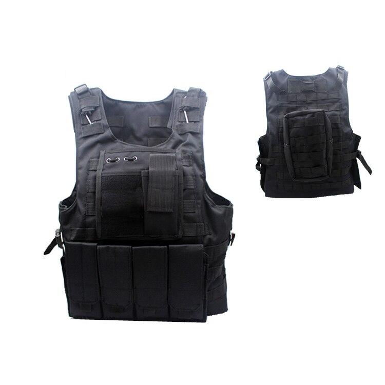 Lawaia Tactical Cs Field Vest Outdoor Vset for Men Multifunction Safety Protection Vests Multi-pocket Game Adjustable Fit Adult