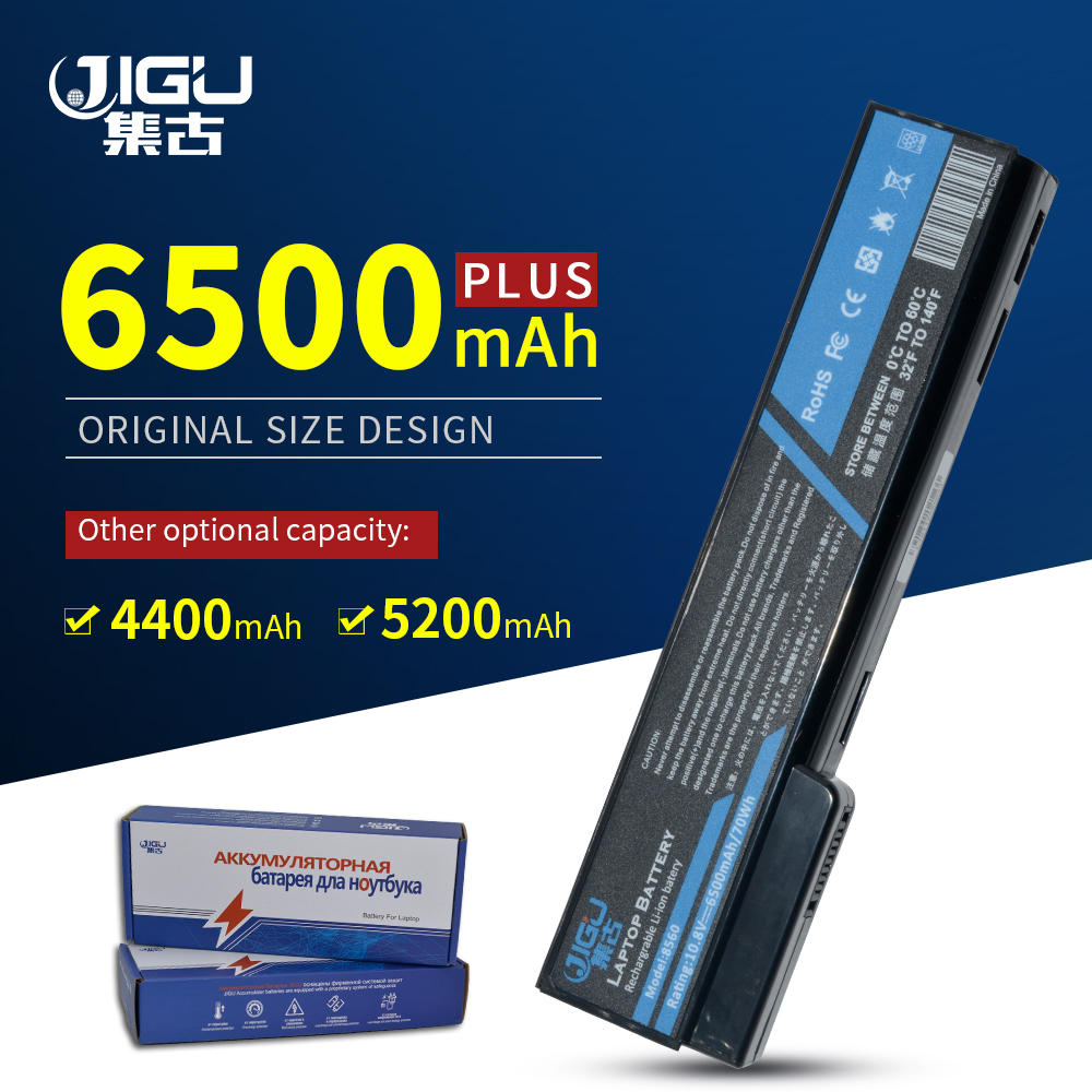 JIGU Laptop <font><b>Battery</b></font> For <font><b>HP</b></font> For <font><b>EliteBook</b></font> 8460p 8460w 8470p 8470w 8560p <font><b>8570p</b></font> ProBook 6460b 6360b 6465b 6470b 6560b 6565b image