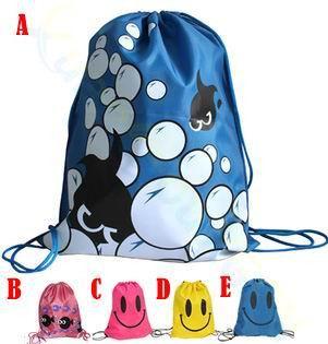 Waterproof Baby Kids smiley beach swimming Props Swim bag outdoor Storage package Bag Cartoon Carrier Bag Toy Bundle bag 4