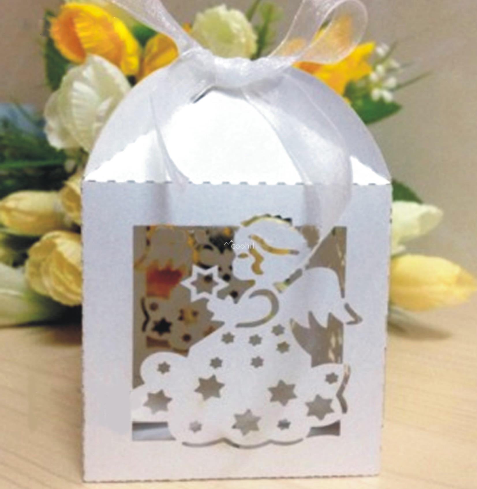 Little Prince Princess Candy Bomboniere candy box wedding favor box ...