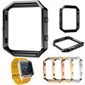 Stainless Steel Metal Watch Frame Holder Shell For Fitbit Blaze Smart Watch