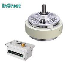 12Nm электромагнитный порошковый тормоз 1,2 кг DC24V один измельчитель одиночного вала& ручной напряжение наборы контроллеров для расфасовки с рисунком машины