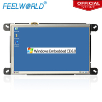 Feelworld W759 7 Inch Industrial Embedded PC WinCE 6.0 Linux with Lan Port RJ45 RS232 All in one Open Frame Panel Computers