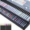 24 stylo pinceau de calligraphie couleur avec lettrage à la main Guide livre pointe Fine crayons Liner double pinceau pointe marqueurs stylos de couleur
